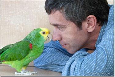 Dr. Attila Molnar, avian bird vet in Los Angeles